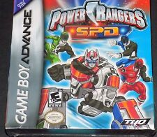 Nintendo GAME BOY ADVANCE - POWER RANGERS S.P.D.- New, Factory Sealed