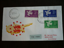 Postal History - Europa 1961 - Cyprus - Scott# 201-203 - First Day Cover