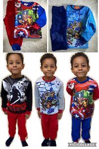New Kids Boys Girls fleece avengers turtles star wars Paw Patrol Frozen pyjamas