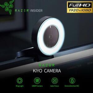 Razer Kiyo Live Webcam mit-Ring rechts 1080P HD Webkamera Autofokus 4MP #DHL#
