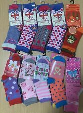 180 Pairs Children's Girls Socks Kids Mixed Sizes Wholesale Job lot