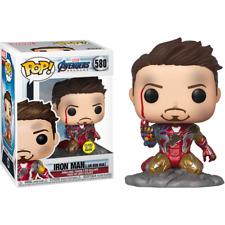 Funko Pop! Avengers Endgame: I Am Iron Man Glow-in-The-Dark Deluxe Figurina di Vinyl - Multicolore