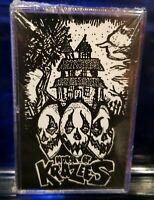 House of Krazees - Casket Cutz ORANGE Cassette Tape twiztid HOK the r.o.c. mne