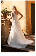 Brautkleid Gr. 38 (frz Gr.40) Rembo Styling NP1.500€ Modell Lopez Hochzeitskleid