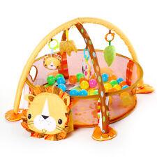3 in 1 Baby Infant Gym Play Mat Toddler Activity Cartoon Ocean Balls Hangin