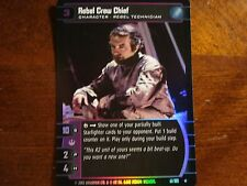 Star Wars TCG ANH Rebel Crew Chief FOIL 41/180