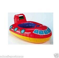 Schwimmring Babyboot  mit Beinöffnung Gummiboot