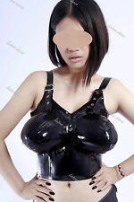 288 Latex Rubber Gummi Inflatable breast Bra customized catsuit costume 0.4mm