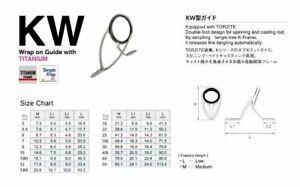 Fuji original Guides Titanium Torzite T-KWTG, Free shipping - Pick Your Size
