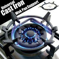 Universal Cast Iron Wok Pan Support Rack Stand For Burners Gas Hobs Cookers