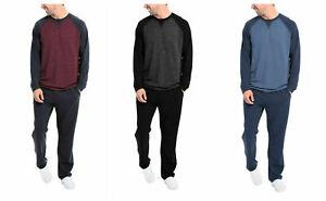 Orvis Men's 2-Piece Pajama Lounge Set soft comfy French Terry S, M, L, XL, XXL