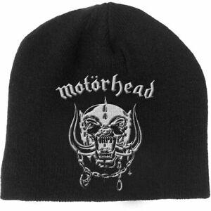 Motorhead Beanie Warpig Logo Official Licensed Rock Metal Band Merch Lemmy Hat