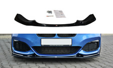 MAXTON DESIGN BMW 1M F20 (FACELIFT) FRONT SPLITTER LIP V3 GLOSS BLACK M140i