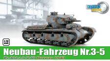 1/72 Dragon Armor #60577 WWII German Tank Neubau-Fahrzeug Nr.3-5 Norway