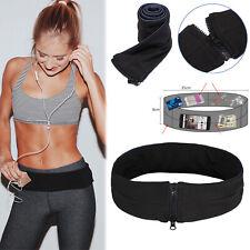 Waist Belt Exercise Pouch Bag Fitness Running Flip Style For Mobile Keys Cash