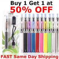 Vape-Pen Starter Kit 1100mAh Battery + CE4_Tank + USB Charger 1eGo-T
