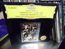 Herbert Von Karajan Symphony No 7 Beethoven Japan Import LP DGG EX [Red Tulip]