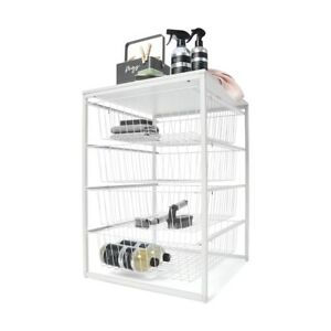 New 4 Wire Drawer Unit For Your Bedroom, Laundry, Kitchen Or Living Space F3