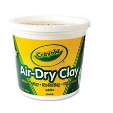 Crayola Air-dry Clay Bucket - White (575055)