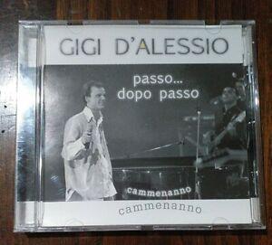 Gigi D'Alessio passo dopo passo Cd usato