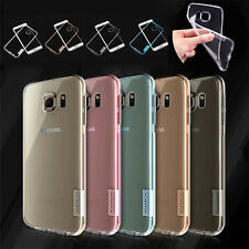 NILLKIN Nature Ultra-thin Silicone Soft TPU Case For Samsung Galaxy S6 S7 Edge