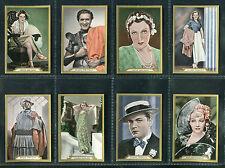 B.A.T. GOLD DOLLAR 1935 FILM STAR FILMBILDER CIGARETTE CARDS PICK YOUR CARD