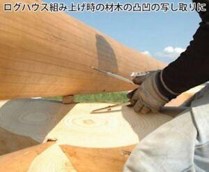 SHINWA Measurement Double Log Scriber for Lumberjack 77590