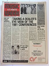 MUSIC & VIDEO  WEEK MAGAZINE  12  SEPTEMBER 1981  EMI'S HITS AND FLIX     LS