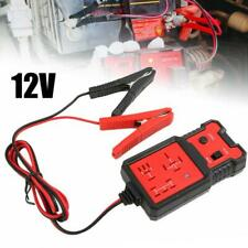 12V Electronic Automotive Relay Tester Plastic & Metal For Auto Battery Checker