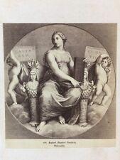 Victorian CDV Carte De Visite Photo: Artwork/Engraving #145: Raphael