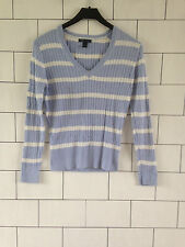 Tommy Hilfiger Cotton Striped Long Sleeve Women's Jumpers & Cardigans