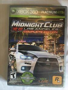 Midnight Club: Los Angeles Complete Edition (Microsoft Xbox 360 2009)