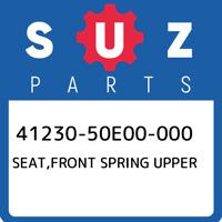 41230-50E00-000 Suzuki Seat,front spring upper 4123050E00000, New Genuine OEM Pa