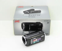 JVC EVERIO GZ-HM301 CAMCORDER BOXED SDXC CARD HIGH DEFINITION DIGITAL HD VIDEO