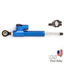 US Stabilizer Steering Damper Bracket Kit Linear For  Honda CBR600 900RR Blue+BK