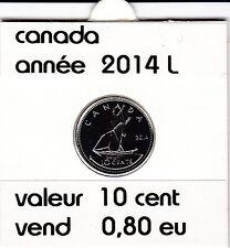 canada 10 cent  2014   voir description