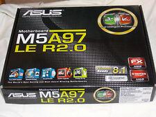ASUS M5A97 LE R2.0 Motherboard Socket AM3+ ATX 970 DDR3 USB3 SATA3 Excellent!