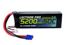 Lectron Pro 11.1V 3S 5200mAh 50C Lipo Battery Pack EC3 Losi ECX Ruckus Torment