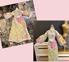 BARBIE DOLL, Vintage Boho /Gypsy dress, handmade , used  (NO DOLL)