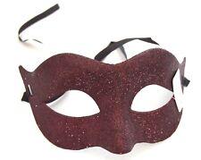 NEW Simple brown glitter Masquerade Mask Eye Gothic halloween fancy dress