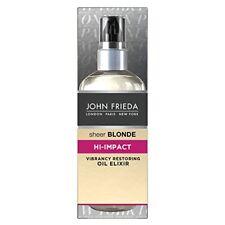 John Frieda Sheer Blonde Hi Impact Vibrancy Restoring Oil Elixir, 100 ml
