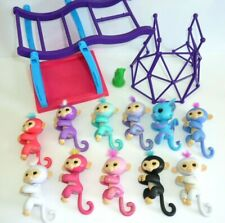 Fingerlings Lot of 11 plus 2 Play Sets— All working!Clean