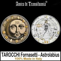 tarocchi fornasetti astrolabio mazzi carte vintage lettura arcani antichi rari
