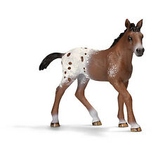 V16) Schleich 13733 Appaloosa Poulain Cheval Animaux