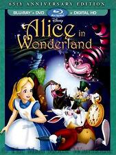 Disney Animated Comedy Masterpiece Alice in Wonderland Blu-ray DVD Digital Copy