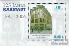 Rostock (Privatpost) Block1 (kompl.Ausg.) Ostseepost postfrisch 2006 125 Jahre K