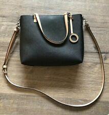 Oroton Black Mini Estate Tote Bag Great Condition