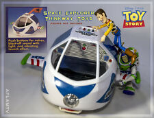 NEW Toy Story Buzz Lightyear SPACE EXPLORER voice Spaceship Disney Thinkway Toys