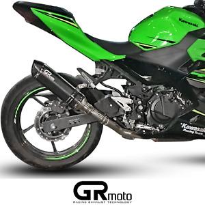 Exhaust for Kawasaki Ninja 400 Z400 2018 - 2020 GRmoto Muffler Carbon