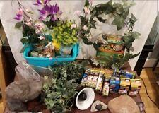 reptile supplies and decor